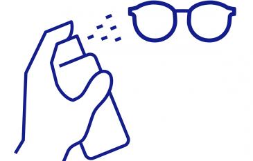 Reinigungslösungen für Brillengläser